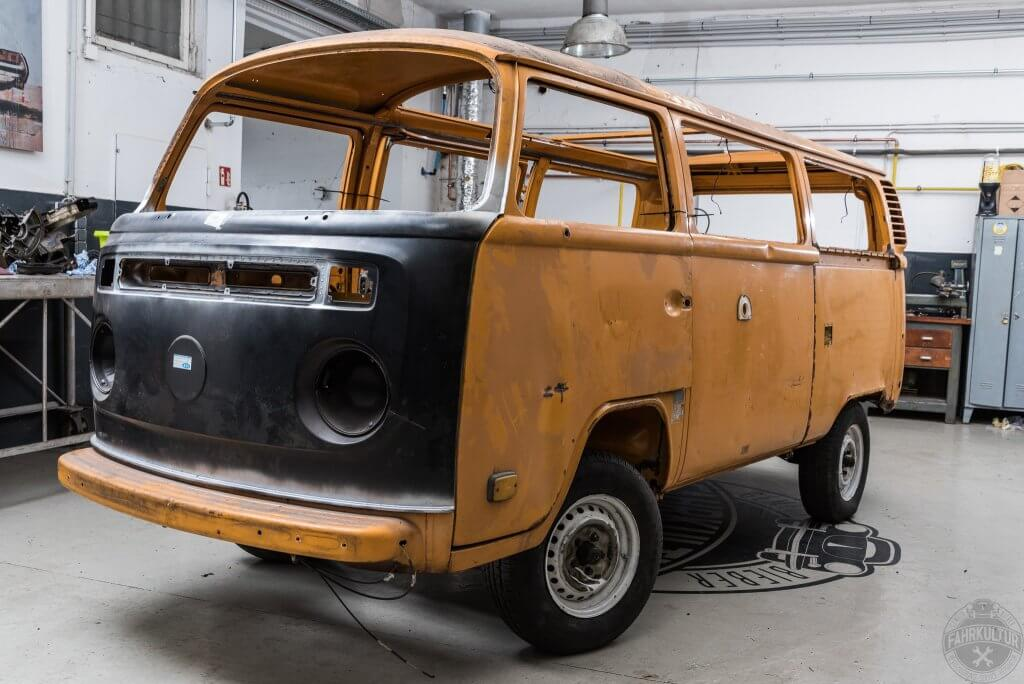 Bonn, VW-Bus, Restauration