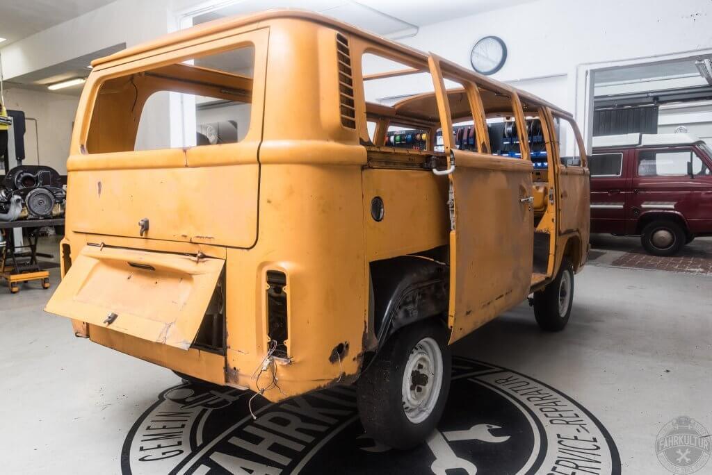 VW-Bus, Restauration, Bonn